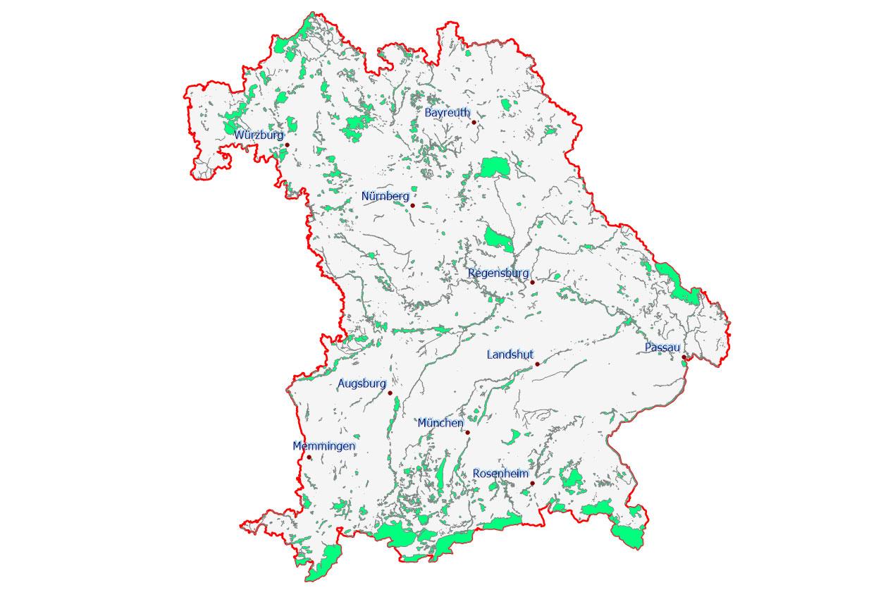 Bayern Karte Flüsse.Was Bedeutet Natura 2000 Lbv